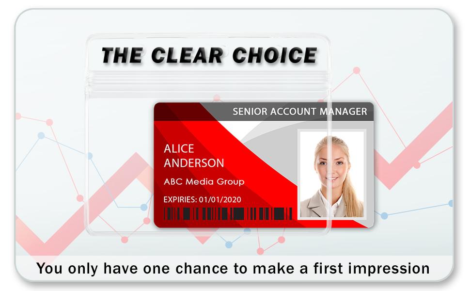 horizontal card holder id badge holders name tag holders with clip badges with clips id badges