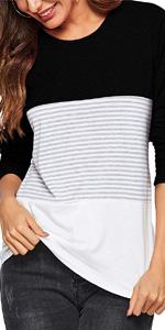 color block tops for women