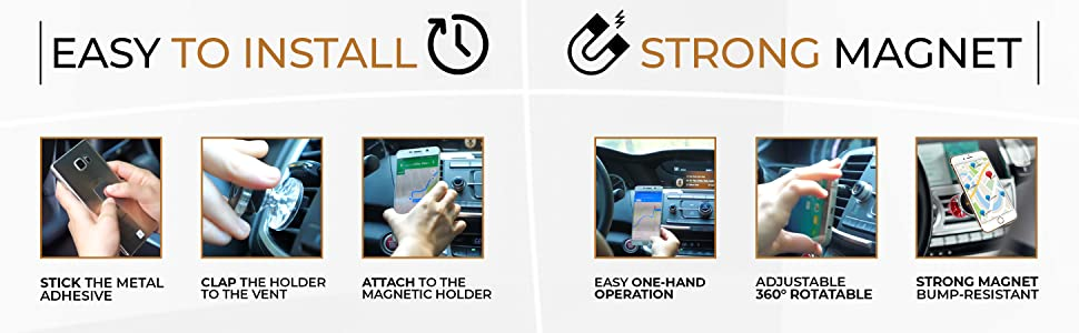 Nextstors Magnetic Air Vent Car Mount