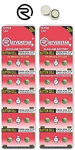 LR626 AG4 Batteries 20-Pack