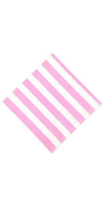 baby pink stripe plate