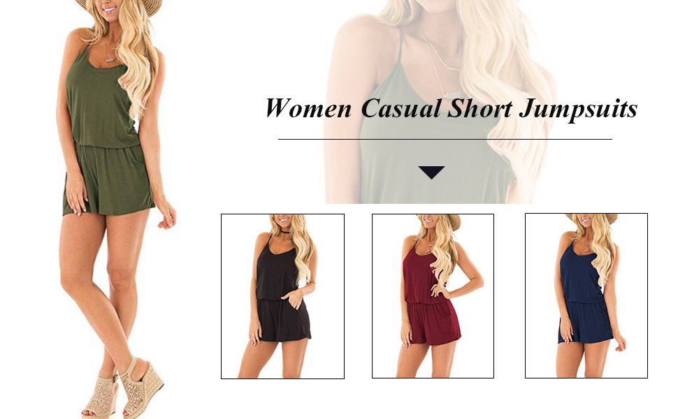 Women short jumpsuit for summer