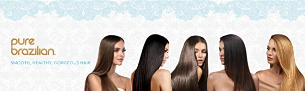 Pure Brazilian smooth, healthy, gorgeous hair