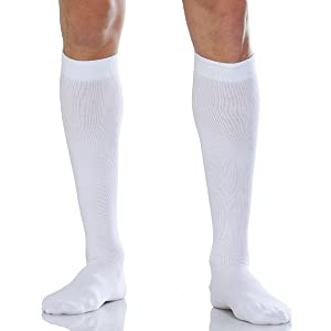 Relaxan, knee high socks, firm compression, varicose, pregnancy, blood circulation, Reinforced