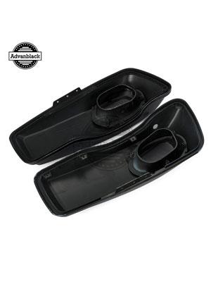harley saddlebag speaker lids vivid black harley lids saddlebag lid covers