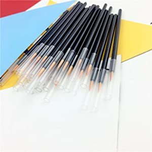 100 Pack Disposable Eyeliner Brush, JASSINS Eye liner Applicator Cosmetic Eye Wands Makeup Tool …