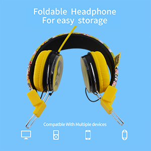 Foldable Headphone for easy storage