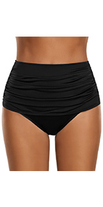 Women's Ruched Swimsuit Bottom