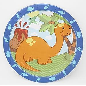little dinosaur dinner plates
