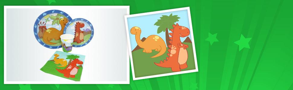 little dinosaur standard banners