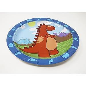 little dinosaur dessert plates