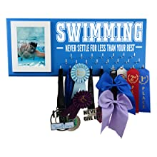 swimming sports gifts medal awards display rack hanger gift