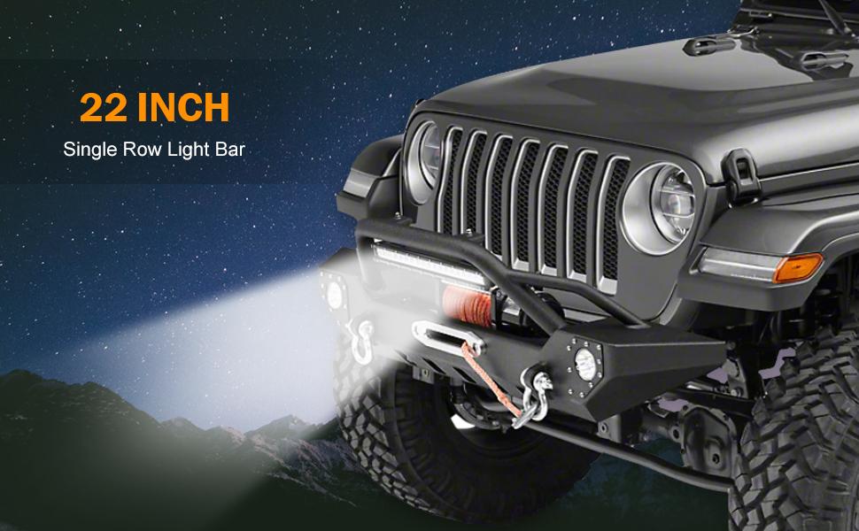 single row led light bar for trucks atv utv off road lights led driving lights backup lights