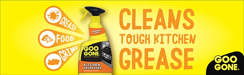 Goo Gone Cleans Tough Kitchen Grease