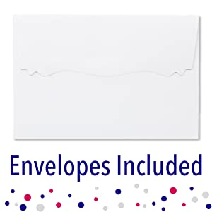 Envelopes Included