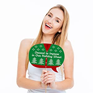 Ugly Sweater Holiday Bubble