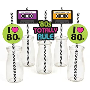 80's Retro 1980s Straw Decor