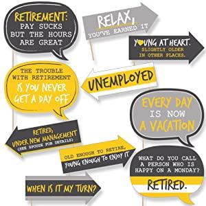 Retirement Prop Kit