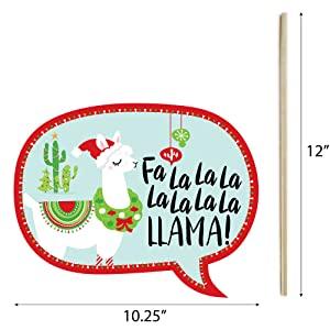 Fa La Llama Talk Bubble Prop