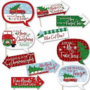 Merry Little Christmas Tree Prop Kit
