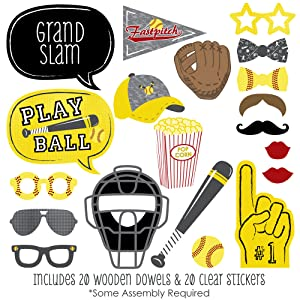 Grand Slam Fastpitch Softball Photo Booth Props