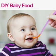 ice cube tray for DIY baby food