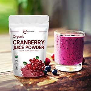 Powerfully Supports Urinary Tract Cleanse, Best Natural Flavor for Smoothie & Beverage Blend
