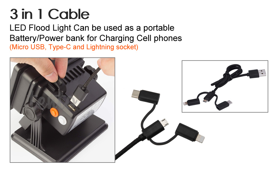 led work light with magnetic base