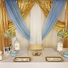 Baby Shower of sequin backdrop