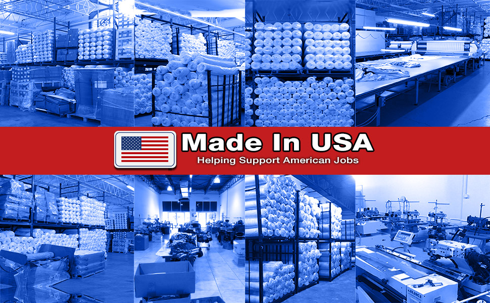 Made In USA all over print shirts and tops