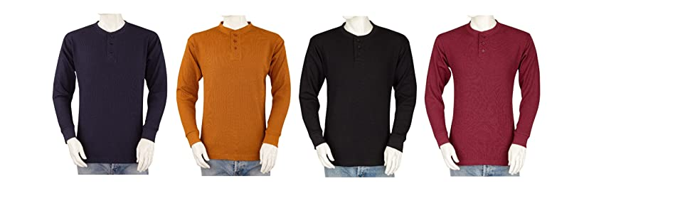 Thermal Henley Cover