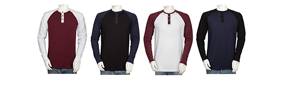 Tall Henley Shirts Long Sleeve Shirts