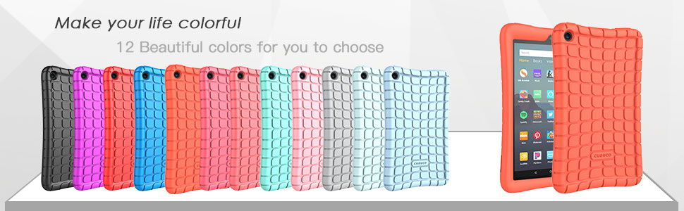 Amazon All-New Fire 7 Tablet case kids case cover for kids edition tablet screen protector 2019 9th