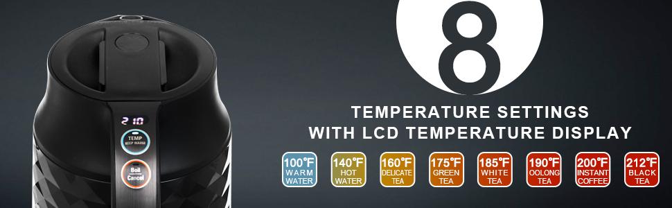 temperature kettle