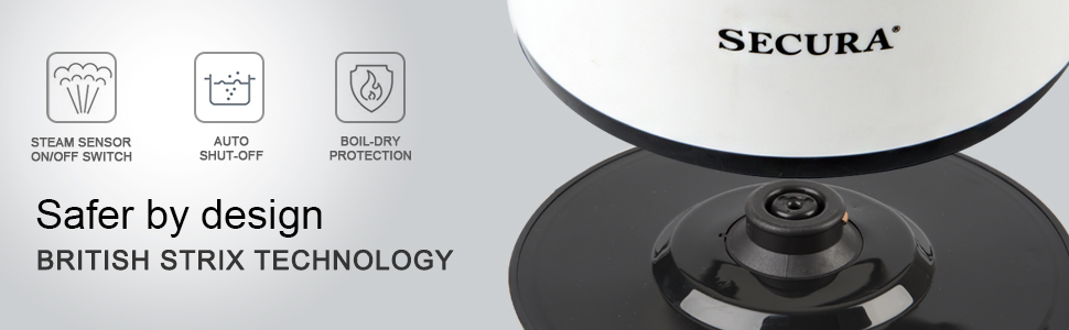 strix technology electric tea kettle