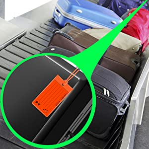 luggage tags travel portable silicone jelly colorful name id card baggage suitcase bag pack bagpack