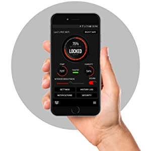 WiFi connectivity via web dashboard or Smartphone app to receive live notifications from anywhere