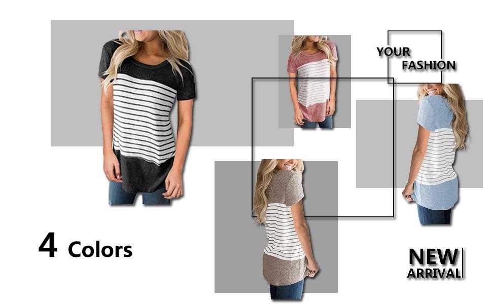 zawapemia womens short sleeve tops