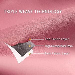 Pink Triple weave