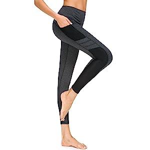 yoga workout pants with phone pocket