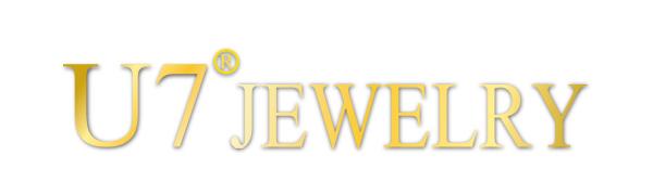 U7 Jewelry Monogram Initial Necklace Choker with Chain