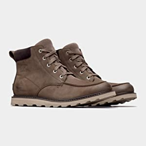 Photo of pair of Madson Moc Toe boots
