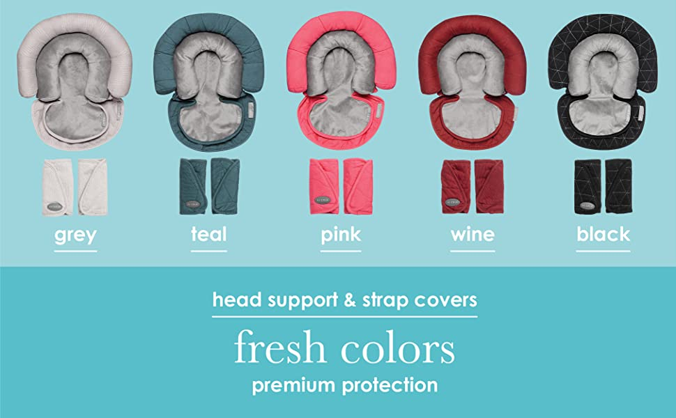 bundle head support strap covers