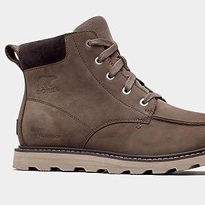 Close-up image of boot heel