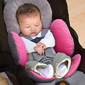 baby car seat body support
