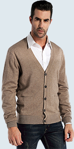 cardigan with buttons and pockets
