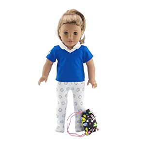 Photo of Daisy Girl Accessory Outfit on an 18-inch Doll