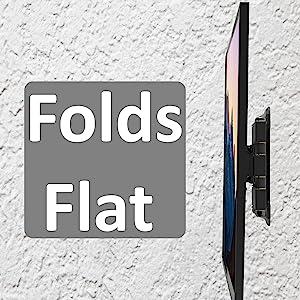 heavy duty flat tv wall mount bracket