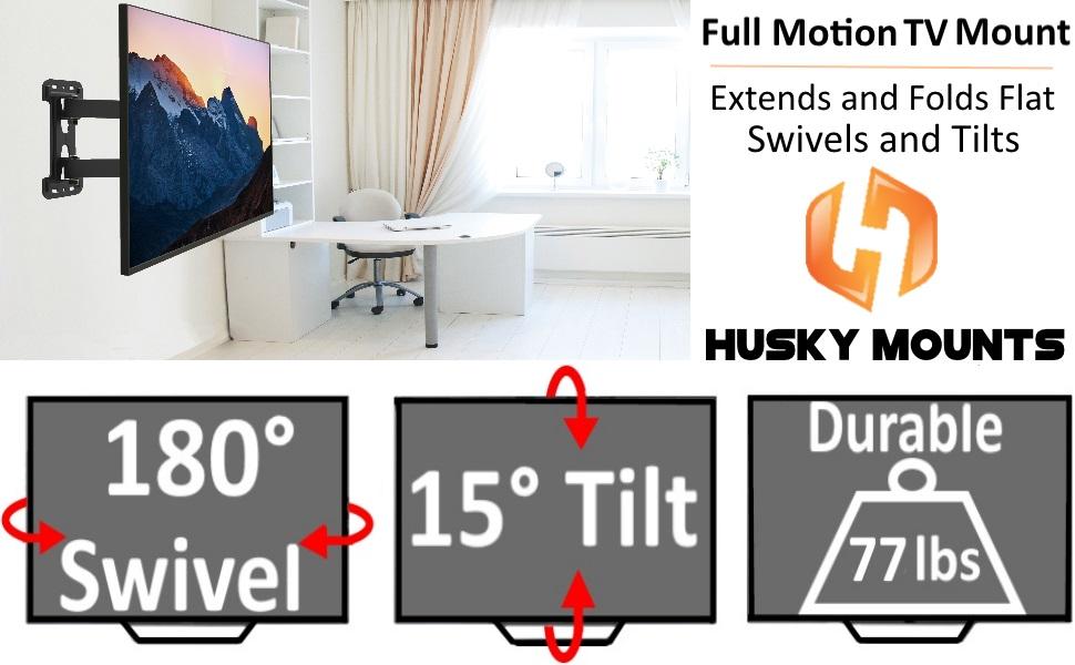 Full motion tv wall mount bracket /if it's tilting,the keyword will be:Tilting TV wall mount bracket