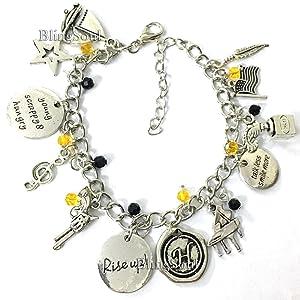 Hamilton charm bracelet